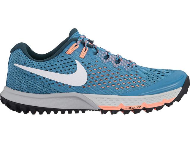 Nike Air Zoom Terra Kiger 4 Running Shoes Women aqua/jungle